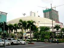 Araneta coliseum i cubaoen, quezonstad i philippines, asia royaltyfri fotografi