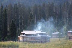 Arang Kel, Neelum Valley, Azad Kashmir fotografia stock libera da diritti