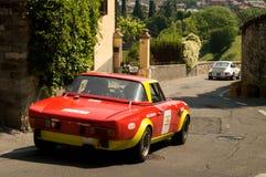 Aranha Bergamo Prix grande histórico 2017 de Fiat 124 Imagem de Stock Royalty Free