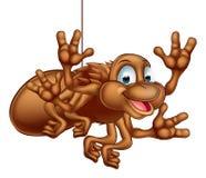 Aranha bonito dos desenhos animados Fotografia de Stock
