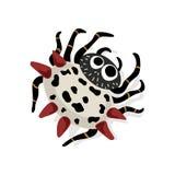 A aranha da estrela isolou-se ilustração do vetor