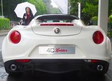 Aranha de Alfa Romeo 4C Imagem de Stock Royalty Free