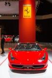 Aranha de Ferrari 458 Imagem de Stock Royalty Free