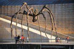 A aranha de Louise Bourgeois - Bilbao, Espanha Imagens de Stock
