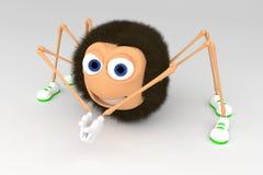 Aranha dos desenhos animados Imagem de Stock Royalty Free