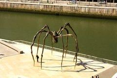 A aranha gigante Fotos de Stock Royalty Free