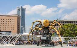 Aranha gigante Fotos de Stock Royalty Free