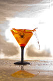 Aranha Martini Imagem de Stock Royalty Free