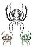 Aranha tribal Imagem de Stock Royalty Free