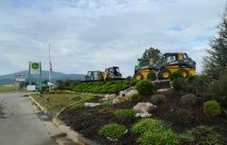 Aranha Webb Farm Implements, Poteau, APROVAÇÃO Foto de Stock Royalty Free