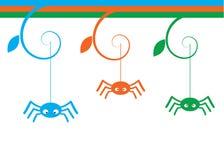 Aranhas ilustração do vetor