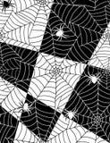 Aranhas no Web Imagem de Stock Royalty Free