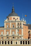 Aranjuez. The detail of royal palace of Aranjuez, Spain Royalty Free Stock Images