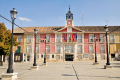 Aranjuez City Hall, Madrid. (Spain Stock Image