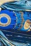 ARANJUEZ, ESPAGNE - 14 OCTOBRE 2017 Gonflage de l'air chaud de ballon Re Images stock