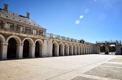 Spanish destination, Aranjuez. Historical royal city. Aranjuez, famous town in Spain for his beautiful royal palace and gardens Royalty Free Stock Image