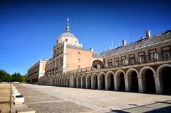 Spanish destination, Aranjuez. Historical royal city. Aranjuez, famous town in Spain for his beautiful royal palace and gardens Stock Images