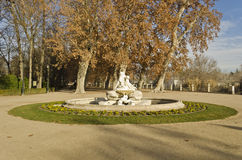 Aranjuez Gardens - Spain. Gardens of Aranjuez Palace in Spain Royalty Free Stock Image
