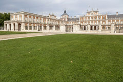 Aranjuez,Madrid,Spain. Royal Palace of Aranjuez, world heritage site unesco, province Madrid, Spain Royalty Free Stock Photos