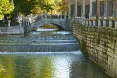 Aranjuez nära slott royaltyfri bild
