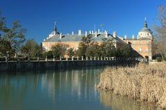 Aranjuez palace Royalty Free Stock Photo