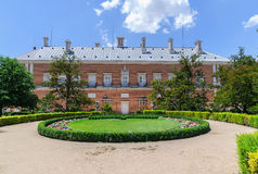 Aranjuez Palace garden. Garden of Royal Palace of Aranjuez, royal site of Aranjuez, Madrid, Spain Stock Image