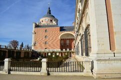 Aranjuez Palace - Spain. Royal Palace of Aranjuez in Spain Stock Photos