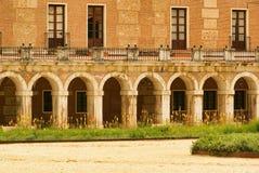 Aranjuez Palacio реальное Стоковое Изображение RF