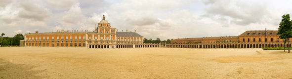 Aranjuez Palacio Real. Aranjuez in Spain, the Palacio Real Stock Image