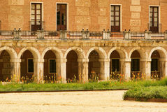 Aranjuez Palacio Real. Aranjuez in Spain, the Palacio Real Royalty Free Stock Image