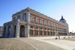 Aranjuez Royal Palace. A classical building in Aranjuez, Madrid, Spain Stock Photos