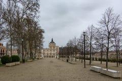 Aranjuez Royal Palace, Madrid, Spain royalty free stock image