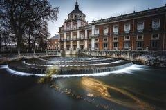 Aranjuez. Royal Palace of Aranjuez. Spain Stock Photo