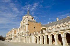 aranjuez slott spain Royaltyfri Fotografi