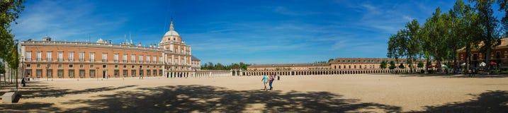 Aranjuez, Spanien 04/26/2008 Royal Palace von Aranj stockbilder