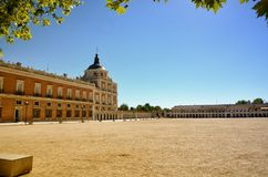 Royal Estate of Aranjuez, Madrid Spain. Aranjuez in a Spanish tourist destination, famous for its historical heritage, is also called the royal estate of Royalty Free Stock Image