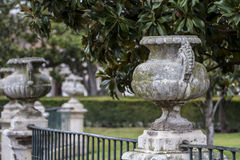 Aranjuez, world heritage, gardens of the island next to the roya. L palace Stock Photo