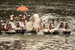 Aranmula Boat race Stock Photo