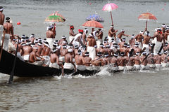 Aranmula Boat race Royalty Free Stock Photos