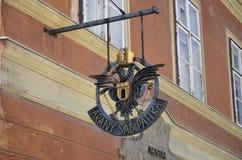 Arany Sas Patika, Budapest Royaltyfria Bilder