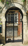 Arap mosque gate. The gate of famous Arap mosque in istanbul turkey Royalty Free Stock Photography