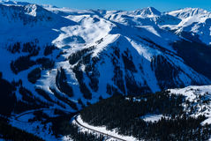 Arapahoehandfat Ski Resort Royaltyfri Fotografi