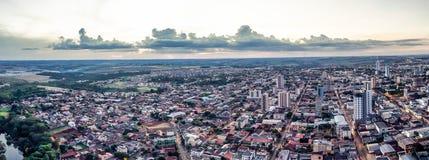 Arapongas Panoramica composição Arkivfoto