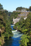 Arapuni Power Station on Waikato river, New Zealand Royalty Free Stock Photos