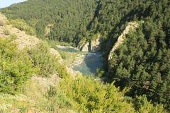arapyrenees flod Royaltyfri Bild