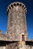 Arara Tower in Hostalric. Girona Province, Catalonia royalty free stock photos