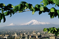 ararat βουνό της Αρμενίας Στοκ Φωτογραφίες