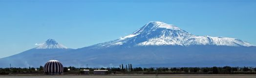 ararat θερινή όψη βουνών ημέρας της Αρμενίας Στοκ φωτογραφίες με δικαίωμα ελεύθερης χρήσης