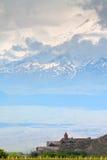Ararat, μοναστήρι Στοκ Φωτογραφίες
