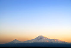 Ararat. Mountain view from Armenia Stock Photos